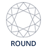 Round-diamond-outline